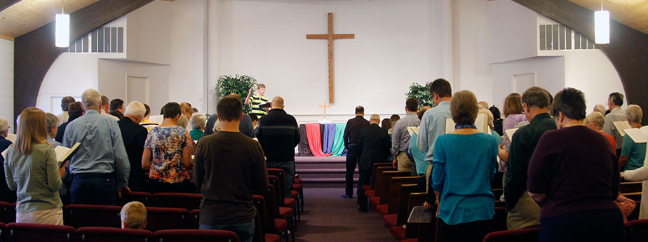 Worship at Waterford Mennonite