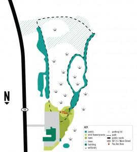 Waterford Wetlands Map